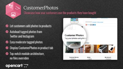 ماژول اپن کارت عکس محصولات خریداری شده توسط مشتری