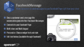 Facebook message widget for your store 172x97 - ماژول اپن کارت مسنجر پیام فیسبوک