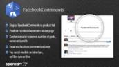 ماژول اپن کارت نظرات فیس بوک
