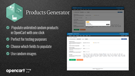 ماژول اپن کارت مدیریت پیشرفته محصولات products generator
