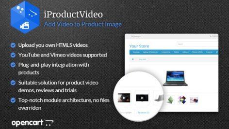 ماژول اپن کارت اضافه کردن ویدیو محصول