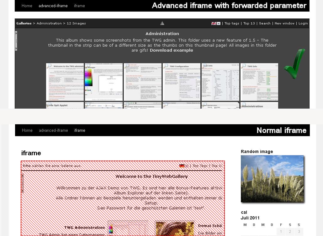 افزونه آی فریم پیشرفته Advanced iFrame Pro